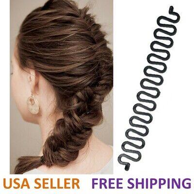 Hair French Braid Clip Magic Styling Stick DIY Bun Maker Tool USA Seller (Hair Styling Stick)