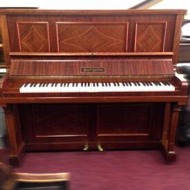 Artcase Sheraton Mahogany upright piano - THE PIANO PAVILION