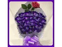💜🌹Large Roses Hazel in Caramel Bouquet 🌹💜