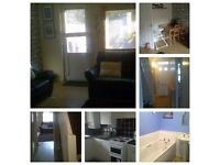 2 bed with garden to swap for 3/4bed