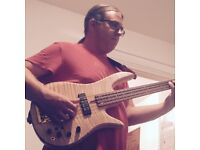 Experienced bass guitar player is looking for a band