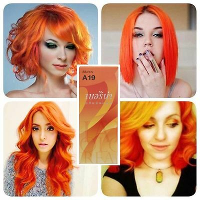 BEST OF COLOR A19 PROFESSIONAL HAIR DYE COLOR CREAM GOLDEN ORANGE #