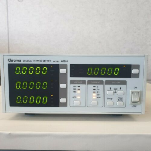 Used Chroma 66201 - Digital Power Meter