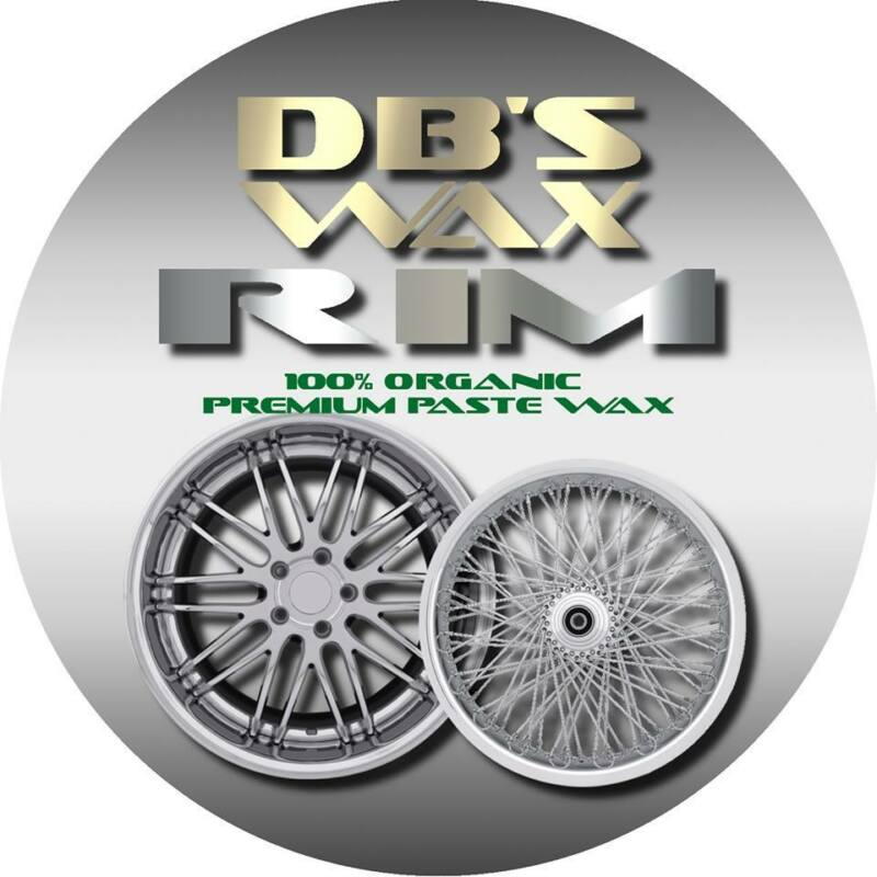 Rim Wax by DB's Wax for your tires 100% Organic