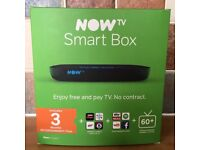 NOW TV SMART BOX + 3 MONTHS ENTERTAINMENT PASS