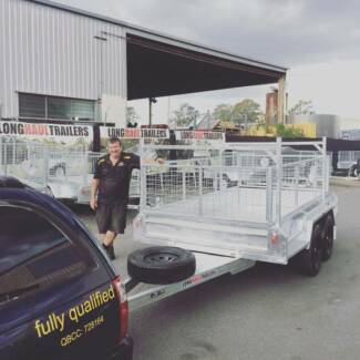 Premium 10x5 TANDEM Box Trailer 600mm Cage, Dual Axle Sumner Brisbane South West Preview