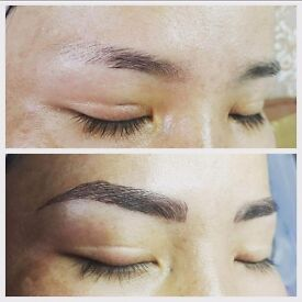 """Looking for model for brow microblading and """"ombre"""" technique (semi perm make up )ASAP"""