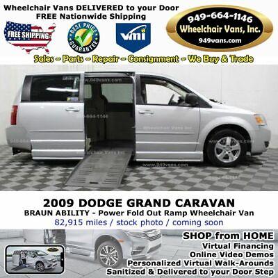 2009 Dodge Grand Caravan SE 4dr Mini Van Wheelchair Van