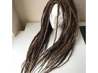 SYNTHETIC DREAD EXTENSIONS   fake dreadlocks   handmade