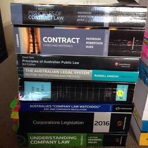 Law Textbooks Auchenflower Brisbane North West Preview