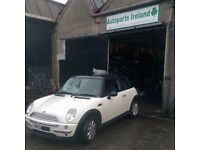 2004 mini one 1.6 for parts