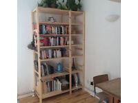 Shelves from Ikea - Ivar 2 sections/shelves - Pine