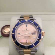 Rolex submariner half gold serti dial with diamonds Wilson Canning Area Preview
