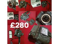 Canon Camera and Lens for sale