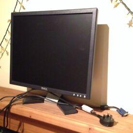 Good condition Monitor Dell E176FP, 17