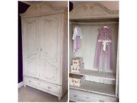 Beautiful Vintage Armoire/Wardrobe