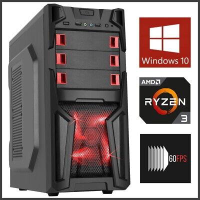 12-Core Quad Core 4GHz Ryzen Gaming PC Computer Desktop 16GB RAM 1TB Fortnite
