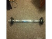 Dumbell (2x 1.25kg and 2x 2.5kg )