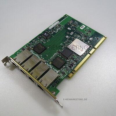 Intel Pro/1000 MT Gigabit Combo Switch und NIC Adapter Quad Port HP AB545-60001