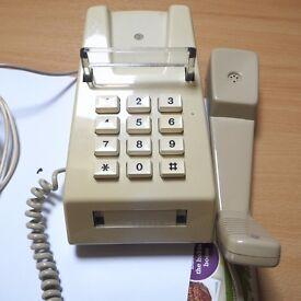 Original GPO Push Button Trimphone For Restoration or Conversion