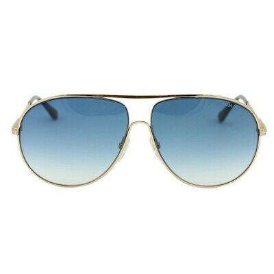 TOM FORD Cliff TF450 FT0450 28P Gold Havana Blue Gradient Aviator Sunglasses.