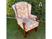 Wingback Armchair (A)