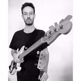 Bass guitar tuition beginner to advanced *All styles welcome!* £30p/h