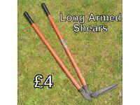Garden Tool - Long armed shears