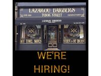 Barber Required EMPLOYED/SELF EMPLOYED