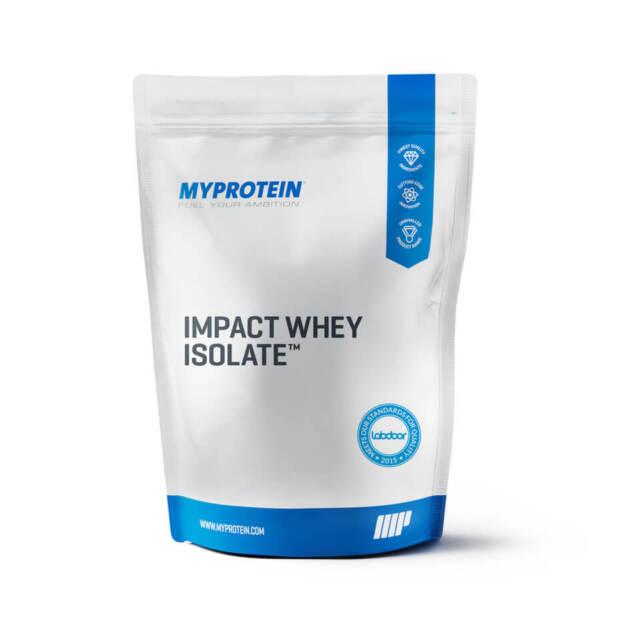 Myprotein: Impact Whey Isolate - Powder - Pouch - 1kg, 2.5kg, 4kg, 5kg