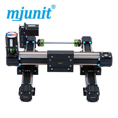 Mjunit Xy 2-axis Cnc Small Linear Rail With 200x400mm Stroke Length