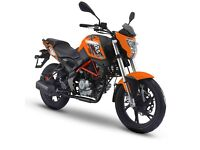 End of Summer Sale New KSR Moto GRS 125cc - 2 Years Warranty - Was £2399 NOW £1999!!