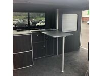 VW Volkswagen T4 T5 T6 SWB Transporter Camper Cabinets Kitchen Storage Unit Deluxe