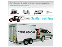Trailer/towing training (BE licence)