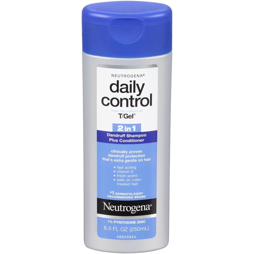 Neutrogena Neutrogena T/Gel Daily Control 2 In 1 Dandruff Sh