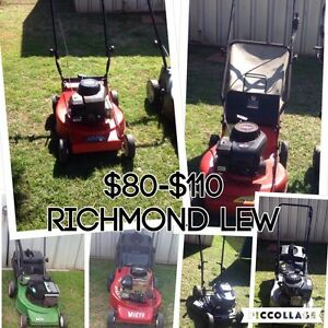 Lawn mowers 4 Sale Richmond Hawkesbury Area Preview