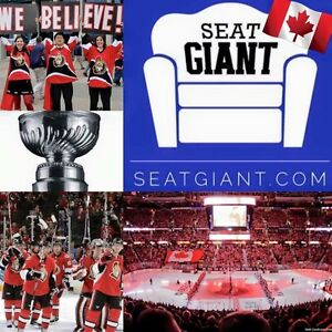 OTTAWA SENATORS TICKETS - GAME 1 TONIGHT FROM $47!!!