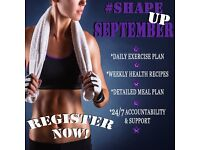 Time for #ShapeUpSeptember!!!!