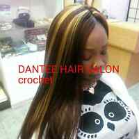 African hair braids and Weaves
