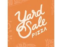 Waiting Staff wanted for Yard Sale Pizza Finsbury Park up to £9.50 p/hr