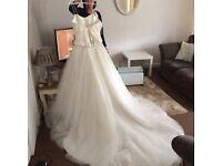 Stunning Ronald Joyce wedding dress for sale