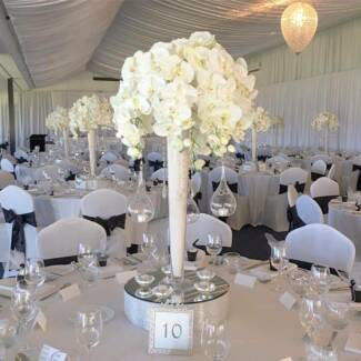 Reception Centrepiece Hire - Orchids - FREE delivery & collection