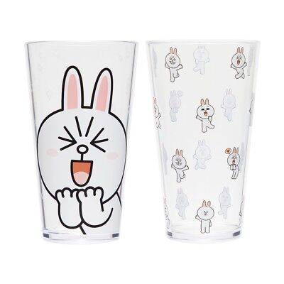 LINE FRIENDS Character Ice Cup Set CONY 18 fl oz 550ml 2PCS Official Goods