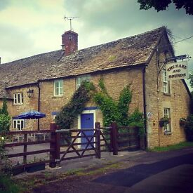 Sous Chef and Housekeeper/FOH Live in if required to join the family at the Hare & Hounds
