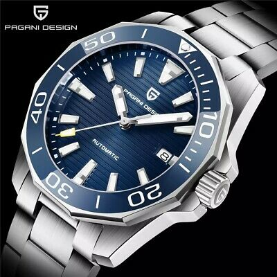 PAGANI DESIGN Top Brand Mechanical Wristwatch