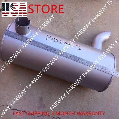 Muffler For Hitachi Excavator Zax200-3 Zaxis240-3 Zx200-3 Zax210-3 Engine 4hk1