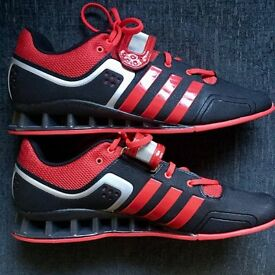 Adidas Adipower Weight Lifting Shoes- Red & Black - UK 11.5/US 12 - New!
