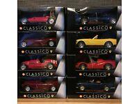 Ferrari Classico Shell Full Collection Diecast 1:38 Scale