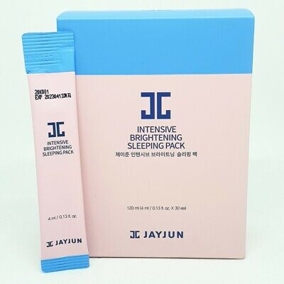 Jayjun Intensive Brightening Sleeping Pack 4ml x 30ea Vitalizes Skin K-Beauty