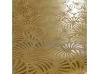 Muriva Wallpaper BARGAIN PRICE nabucco fenena gold and slate